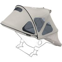 Bugaboo Donkey Breezy Sun Canopy, Grey