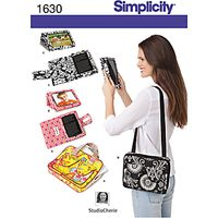 Simplicity Tablet Cases Sewing Pattern, 1630