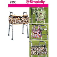 Simplicity Craft Sewing Pattern, 2300