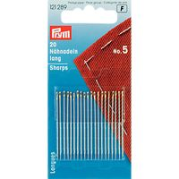 Prym Hand Sewing Needles, Size 5, Pack of 20