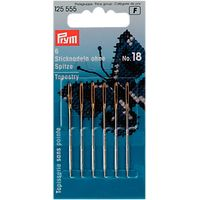 Prym Tapestry Needles, Size 18, Pack of 6