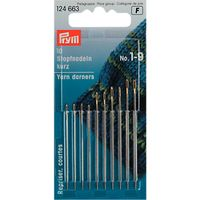 Prym Assorted Darning Needles, Sizes 1-9, Pack of 10