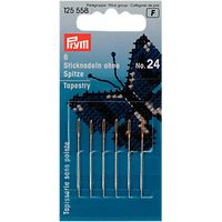 Prym Tapestry Needles, Size 24, Pack of 6