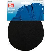 Prym Raglan Small Shoulder Pads, Pack of 2, Black