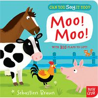 Can You Say It Too? Moo Moo Book