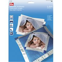 Prym Printable Creative Fabric, Pack of 5