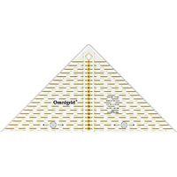 Prym Omnigrid Metric Quick Triangle Ruler, .25cm