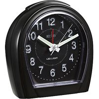 Acctim Lumilight Clock, Black