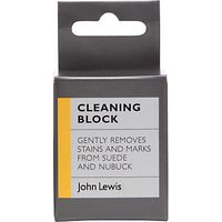 John Lewis Suede and Nubuck Cleaning Block