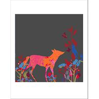 House by John Lewis, Tiffany Lynch - Foxy For Get Me Not Unframed Print, 40 x 30cm