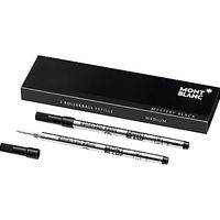 Montblanc Rollerball Refills, Mystery Black, Pack of 2