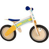 Kiddimoto Kurve Balance Bike, Police