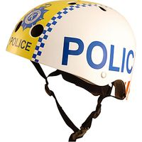Kiddimoto Childrens Police Scooter & Bike Helmet, Small
