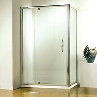 John Lewis Surround 100 x 80cm Shower Enclosure with Pivot Front Door