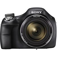 Sony Cyber-Shot DSC-H400 Bridge Camera, HD 720p, 20.1MP, 63x Optical Zoom, 3 LCD Screen