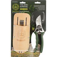 Kew Gardens Secateur & Leather Holster Set