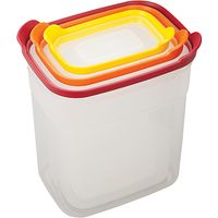 Joseph Joseph Nest Tall Food Storage Containers, Set of 3