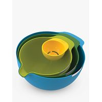 Joseph Joseph Nest Mixing Bowl Set, 4 Piece, Multicolour