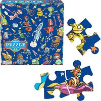 Eeboo Lots Of Robots Jigsaw Puzzle