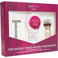 Men Rock Double Edged Razor Starter Kit Gift Set