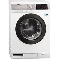 AEG L99695HWD KOKombi Plus Heat Pump Washer Dryer, 9kg Wash/6kg Dry Load, A Energy Rating, 1600rpm Spin, White