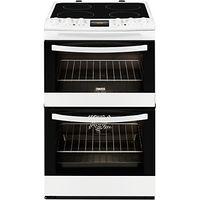 Zanussi ZCV48300WA Electric Cooker, White
