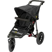 Out N About Nipper 360 Single V4 Pushchair, Black