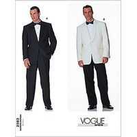 Vogue Mens Suits Sewing Pattern, 2383