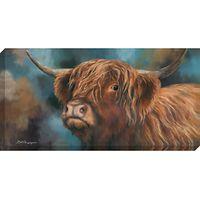Dina Perejogina - Highland Heifer, 120 x 60cm
