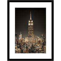 Assaf Frank - New York City Lights Framed, 84 x 64cm