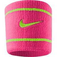 Nike Dri-FIT Wristband, Pink/Green