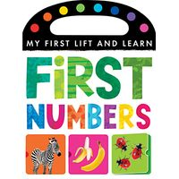 My First Lift & Learn: First Numbers Book