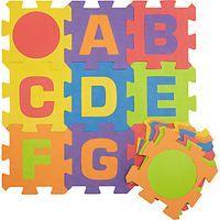 John Lewis Foam Jigsaw Alphabet Play Mat, Large