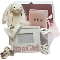 John Lewis Its A Girl Large Baby Hamper, Pink