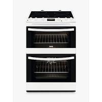 Zanussi ZCI68300WA Induction Hob Electric Cooker, White