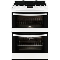 Zanussi ZCV68300WA Electric Cooker, White
