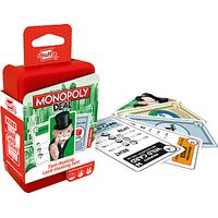 Monopoly Deal Shuffle Card Game