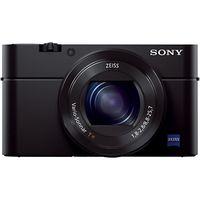 Sony Cyber-shot DSC-RX100 III Camera, HD 1080p, 20.1MP, 2.9x Optical Zoom, Wi-Fi, NFC, OLED EVF, 3 Screen