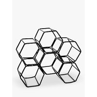 John Lewis Honeycomb Wine Rack, 6 Bottles