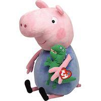 Ty Peppa Pig George Pig Soft Toy, 38cm
