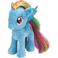 Ty My Little Pony Rainbow Dash Beanie Baby, 30cm