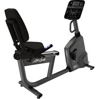 Life Fitness RS1 Lifecycle Recumbent Exercise Bike, Track Console
