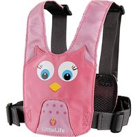 LittleLife Owl Animal Harness, Pink
