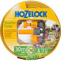 Hozelock Starter Set with Multi-Purpose Hose, 30m