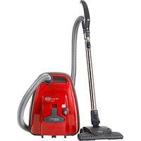 Sebo K1 Eco Cylinder Vacuum Cleaner, Red