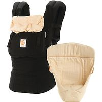 Ergobaby Original Baby Carrier & Infant Insert, Black