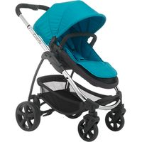 iCandy Strawberry 2 Pushchair with Chrome Chassis, Carrycot & Pacific Hood