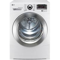 LG RC7066A2Z Sensor Condenser Tumble Dryer, 7kg Load, B Energy Rating, White