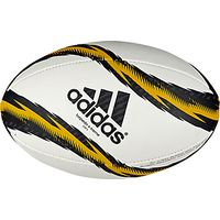 Adidas Torpedo X-Treme Rugby Ball, Size 5, White