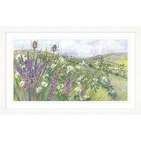 Diane Demirci - Bramble Blossom Framed Print,107 x 67cm